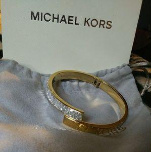 Michael Kors gold bangle